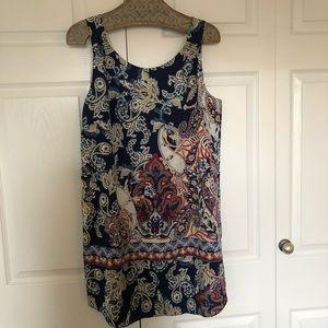 Women's sleeveless Paysly tunic